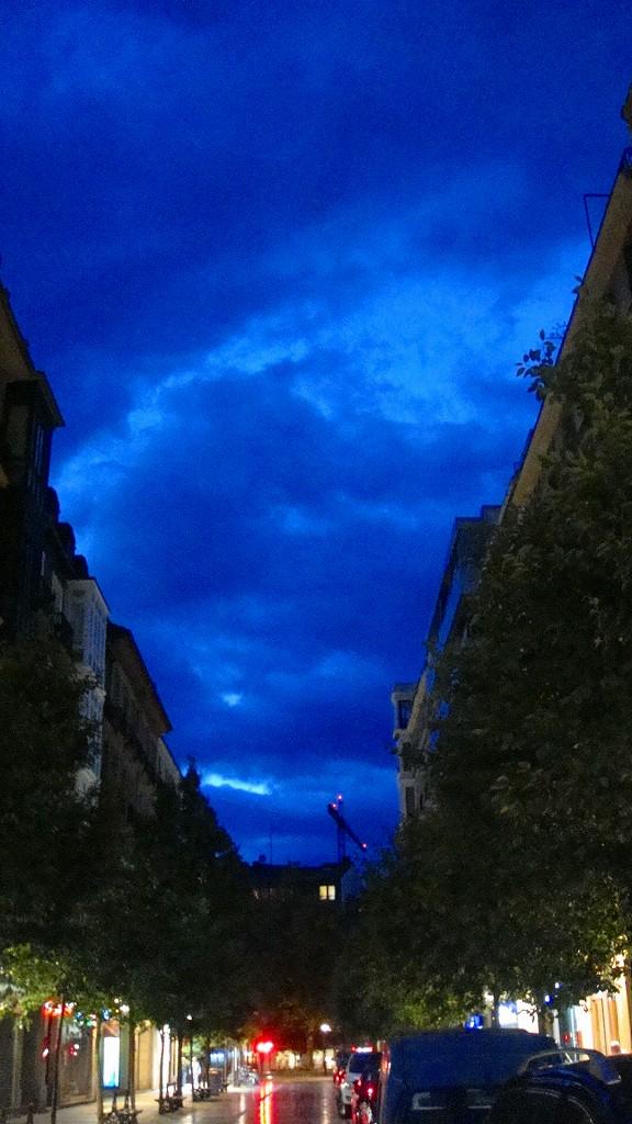 サンセバスチャン 夜