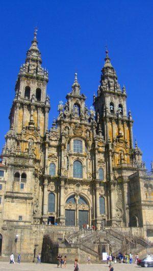サンティアゴ・デ・コンポステラの大聖堂