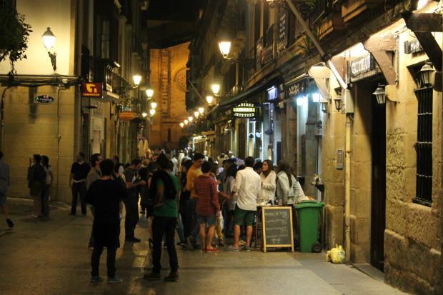 サンセバスチャン バルストリート
