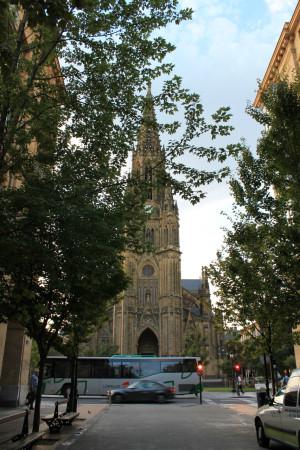サンセバスチャン 大聖堂