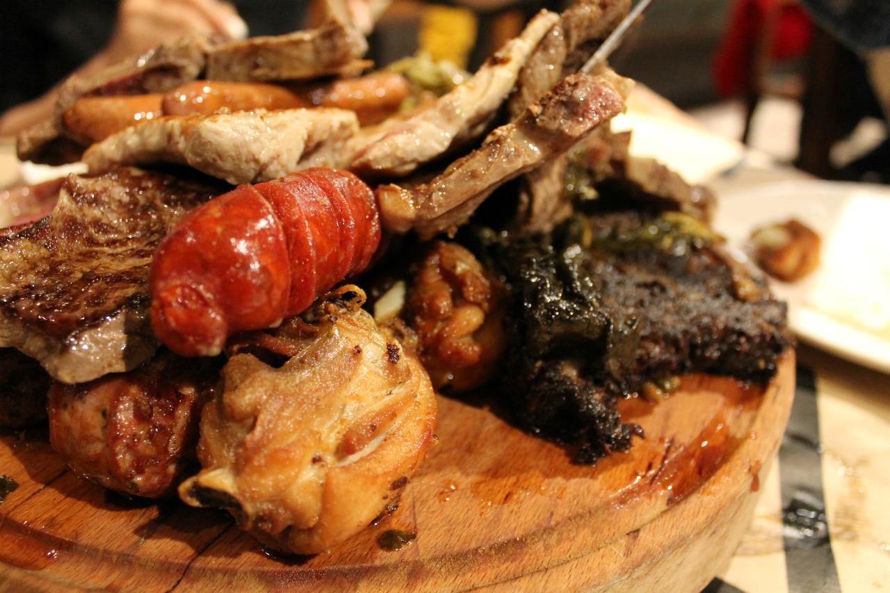 アストゥリアス 肉盛り