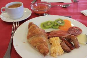 ペニャフィエル -リベラ・デル・ドゥエロ 修道院ホテル 朝食