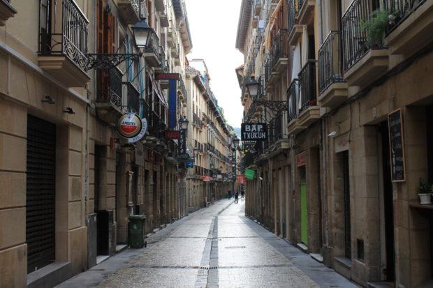 バスク サンセバスチャン 市街