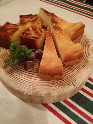 ランブロア チーズケーキとパステルバスコ