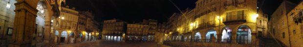 オウレンセの小さくてかわいいマジョール広場