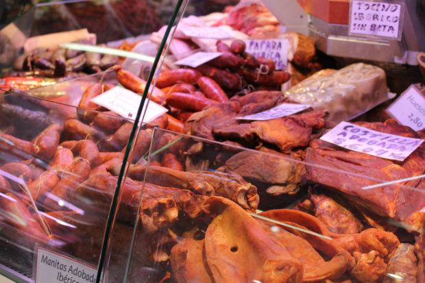 ビルバオ 市場 お肉屋さん