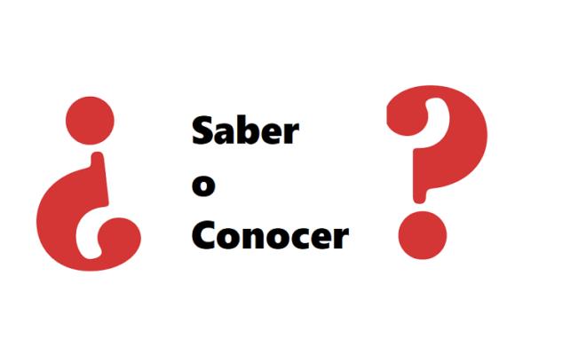 SaberとConocerの違い