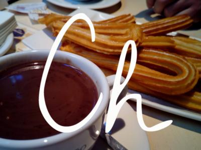 Chではじまるスペイン料理用語