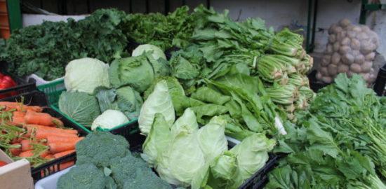 ガリシアの野菜