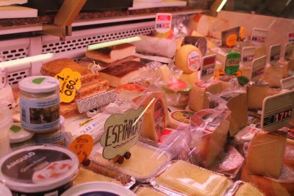 ブルゴスの市場