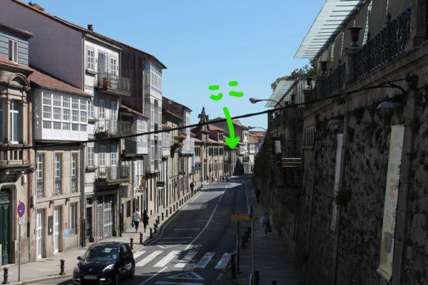 サンティアゴ・デ・コンポステーラ 民泊