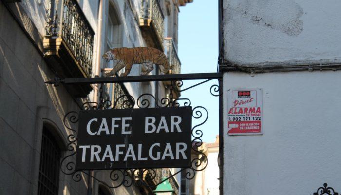 サンティアゴ・デ・コンポステーラ バル トラファルガル