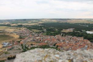 ペニャフィエル城からの景色
