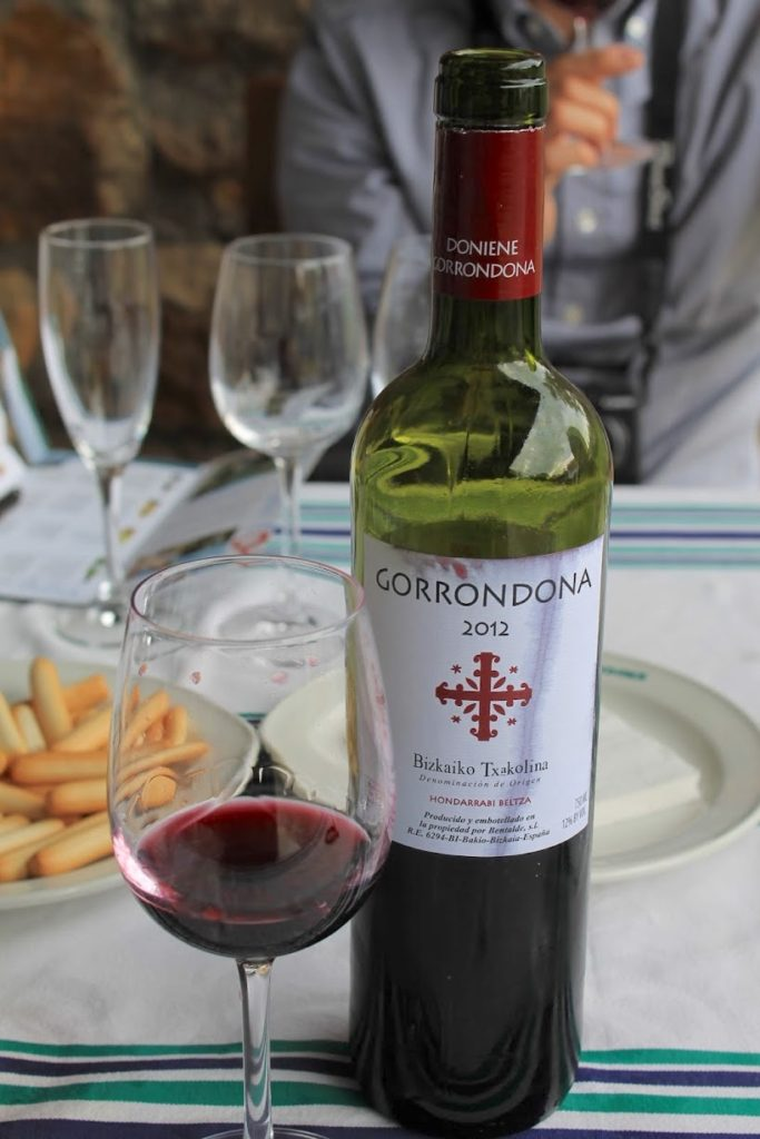 チャコリ 赤ワイン