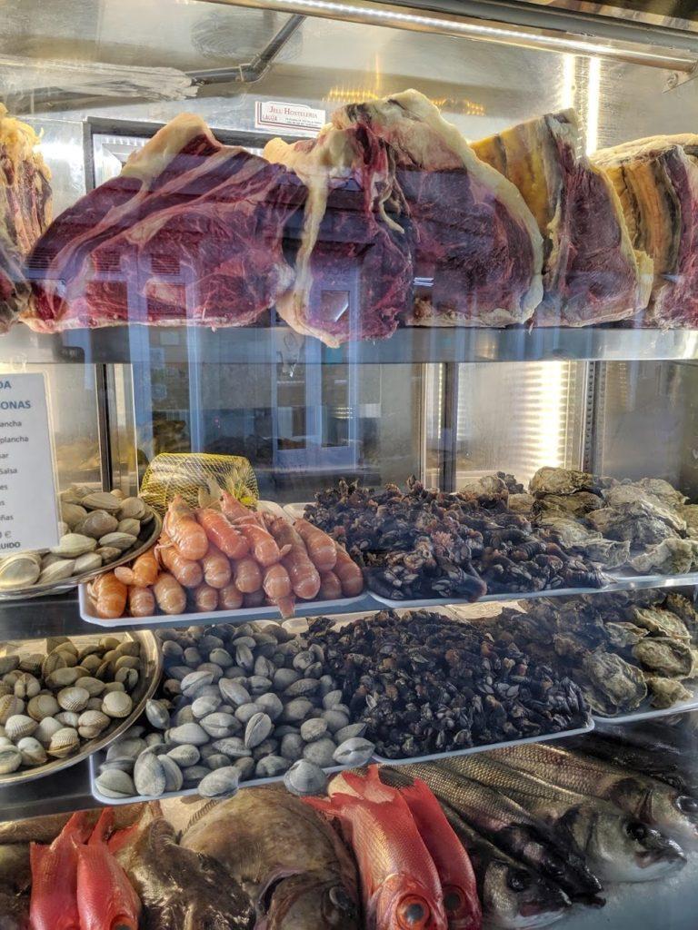 サンティアゴ・デ・コンポステーラ レストラン