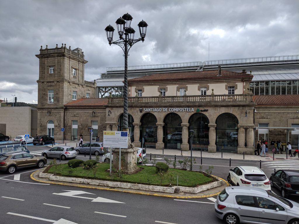 サンティアゴ・デ・コンポステーラ 駅