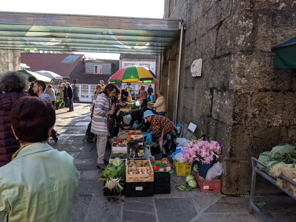 サンティアゴ・デ・コンポステーラ 市場