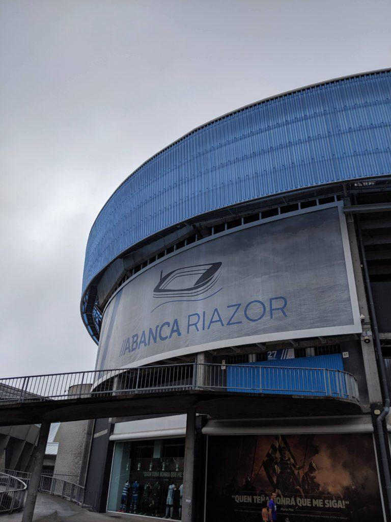 ア・コルーニャへデポルティーボの試合を見に行ってきた!