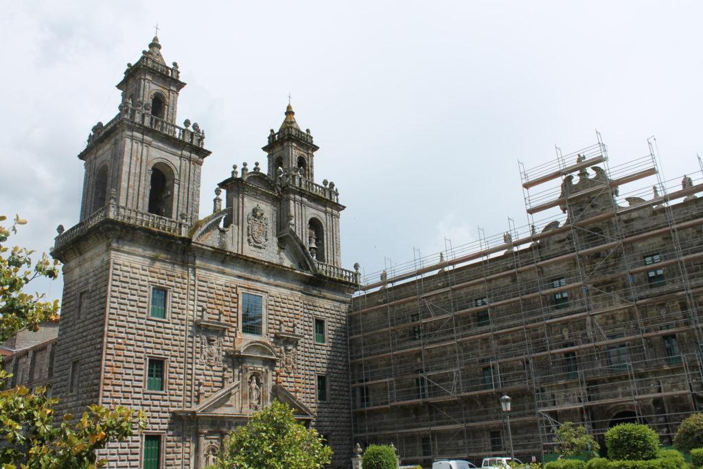ガリシア地方 オウレンセ オセイラ修道院